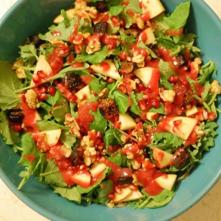 Ultimate Fall Salad with Cranberry-Orange Vinaigrette