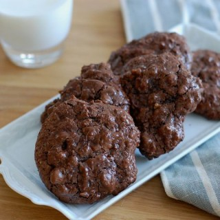 Gluten- Dairy- and Oil-Free Chocolate Walnut Cookies