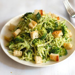 broccoli caesar salad