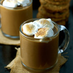 Extra Thick Sweet Potato Hot Chocolate