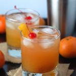 Honey Tangerine Whiskey Sour