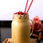 Butternut Squash Pomegranate Smoothie