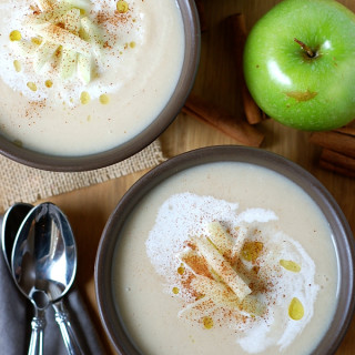Cinnamon Apple Turnip Soup