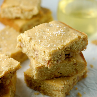 easy butterscotch blondies