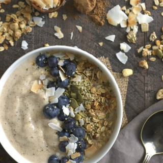 Maple Chai Smoothie Bowl (Vegan & Gluten-Free)
