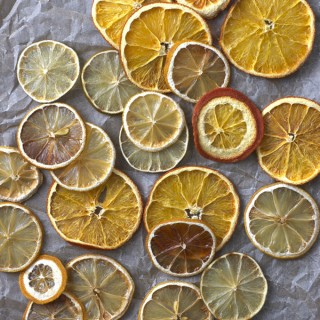Homemade Dried Citrus Wheels
