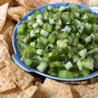 Cucumber Kiwi Salsa