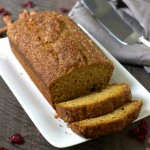 One-Bowl Skinny Pumpkin Bread