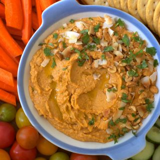 Thai Red Curry White Bean Dip