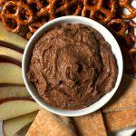 Magic Five Ingredient Chocolate Hummus