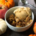 Healthy Pumpkin Apple Crisp